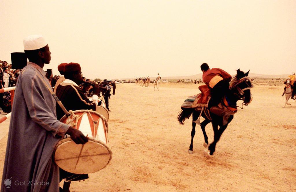 Acrobacias Cavalo, festival dos ksour, tataouine, tunisia