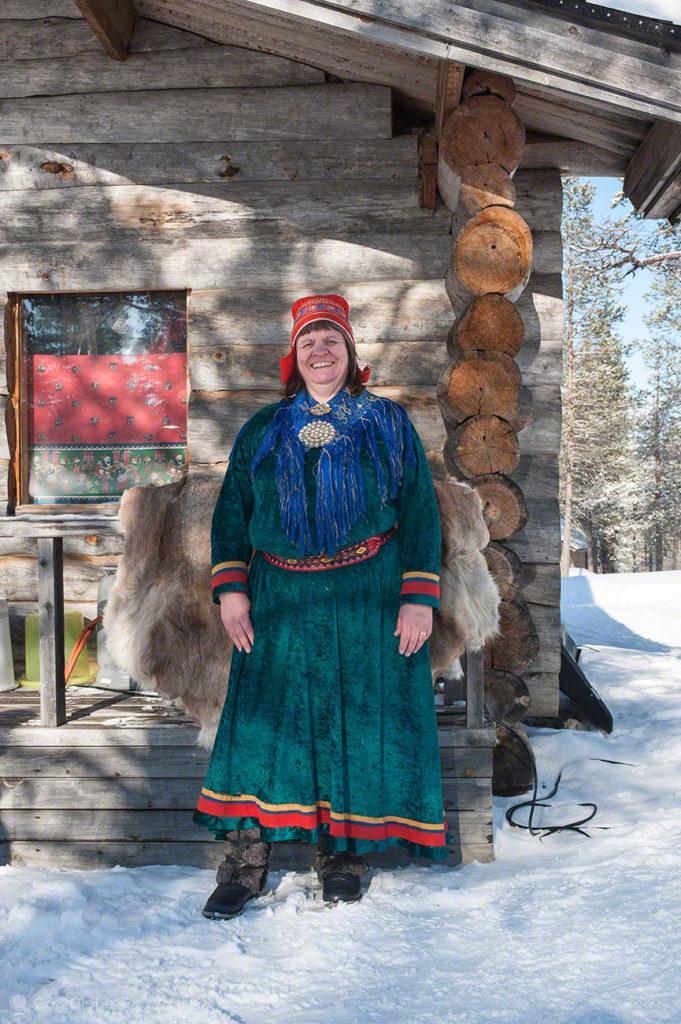 Armi Palonoja, povo sami, Inari, Finlandia