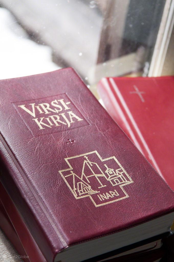 Biblia, igreja de Pielpajarvi, Inari, Finandia