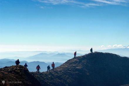 Caminhada sobre a orla, vulcão villarrica, Pucon, Chile