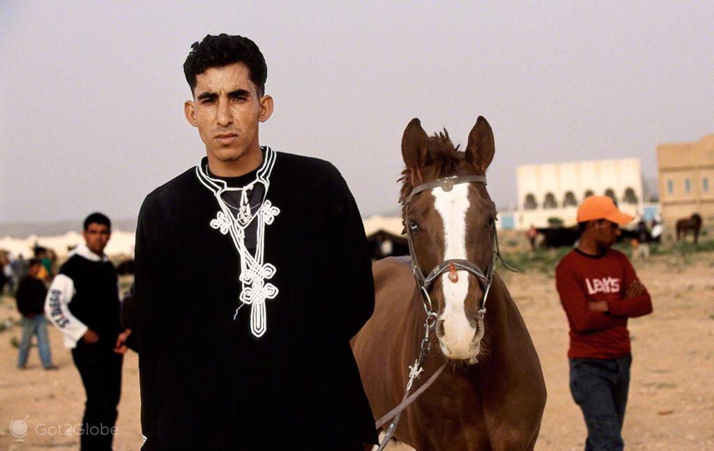 Cavalo, Jokei, festival dos ksour, tataouine, tunisia