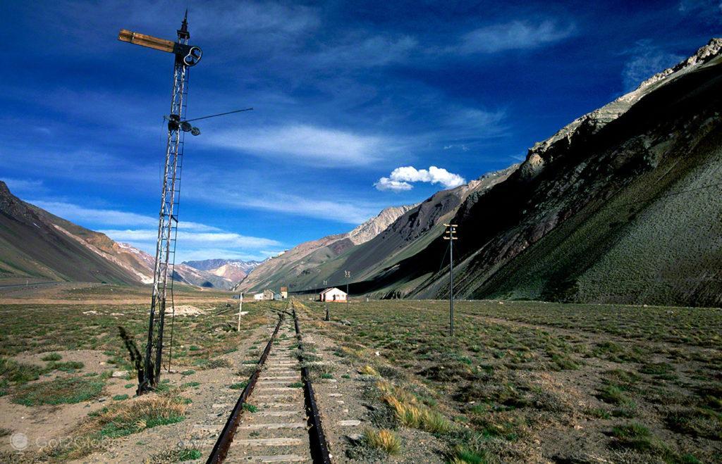 Estacao Comboio, Mendoza, de um lado ao outro dos andes, argentina