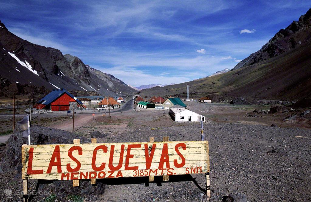 Las Cuevas 3185, Mendoza, de um lado ao outro dos andes, argentina