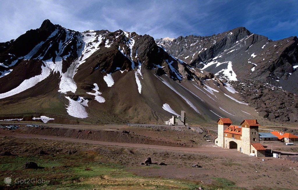 Las Cuevas, Mendoza, de um lado ao outro dos andes, argentina