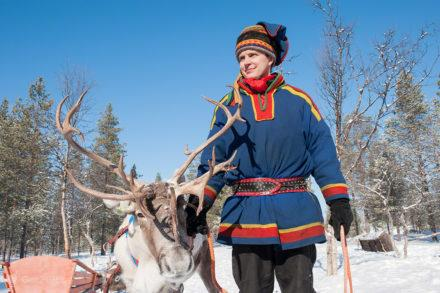 Maksim, povo Sami, Inari, Finlandia-2