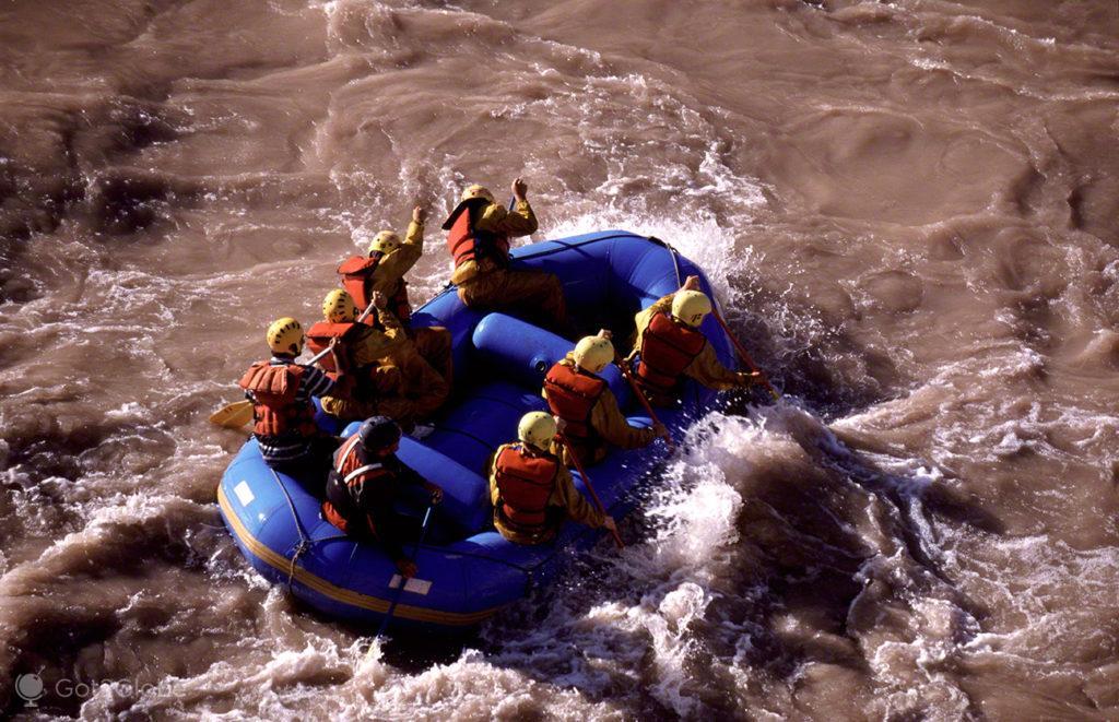 Rafting Proximo, Mendoza, de um lado ao outro dos andes, argentina