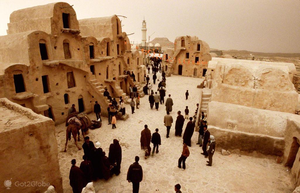 Saida Ksar Ouled Soltane, festival dos ksour, tataouine, tunisia