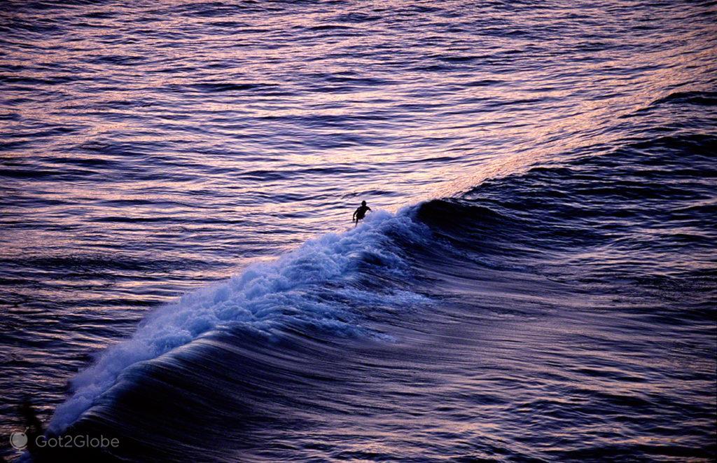 Surfista, Mar das caraibas, Venezuela