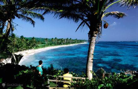 Vista da Casa Iguana, Corn islands, puro caribe, nicaragua