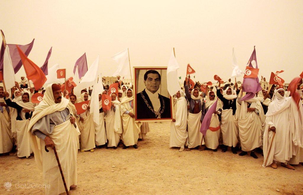 Viva Presidente, festival dos ksour, tataouine, tunisia