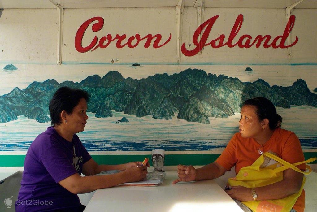 bar, coron, busuanga, filipinas
