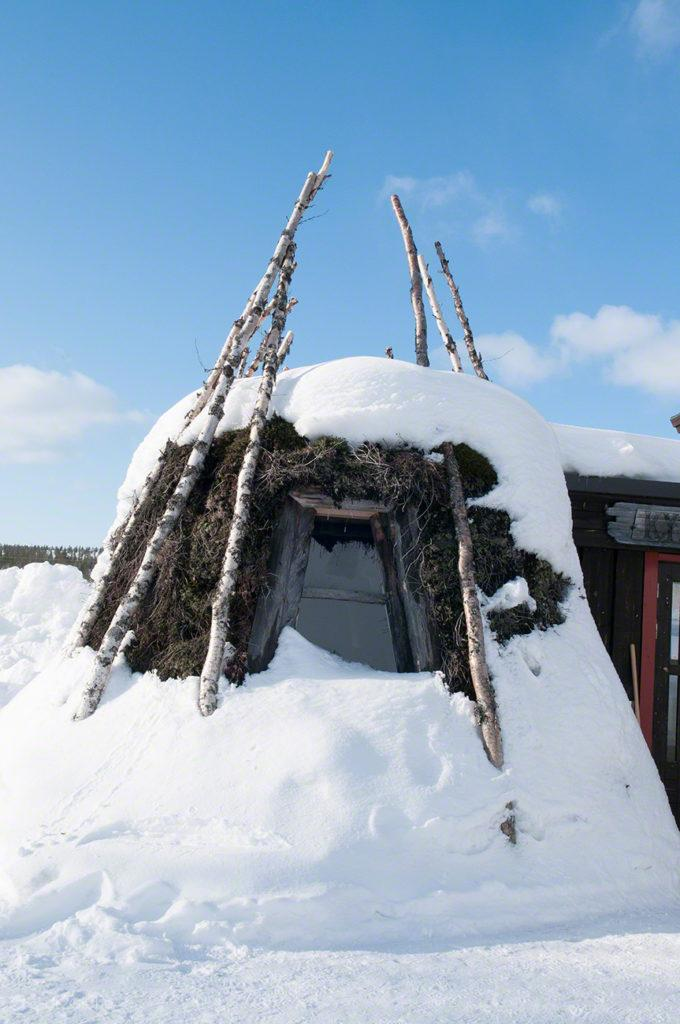 Cabine gelada, Sauna finlandesa
