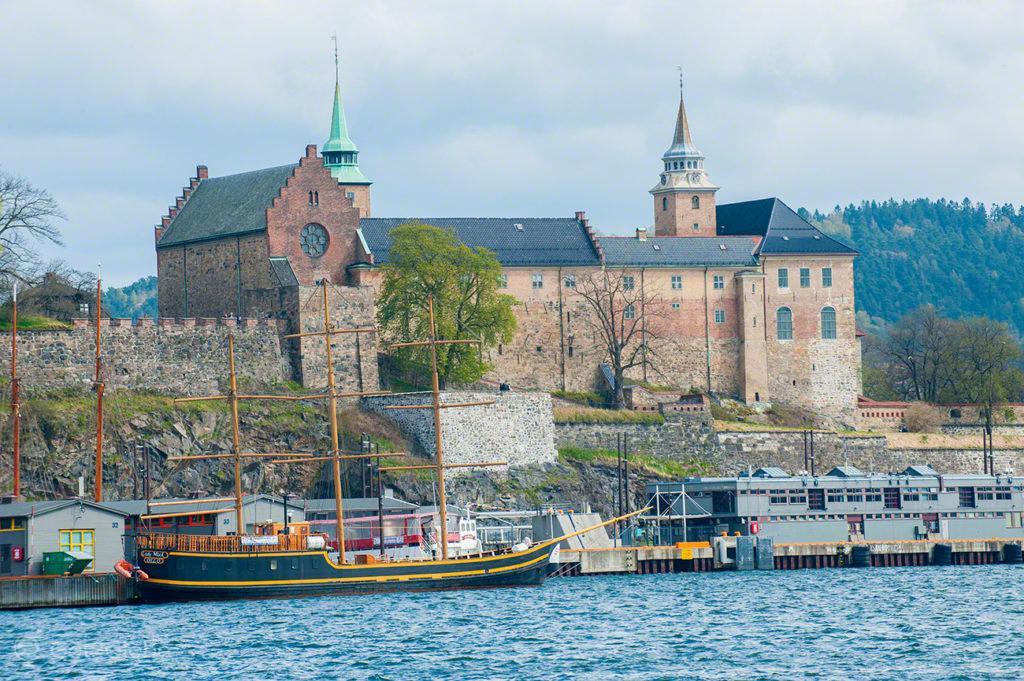 castelo Akeshus, antiga residencia real, capital, oslo, noruega
