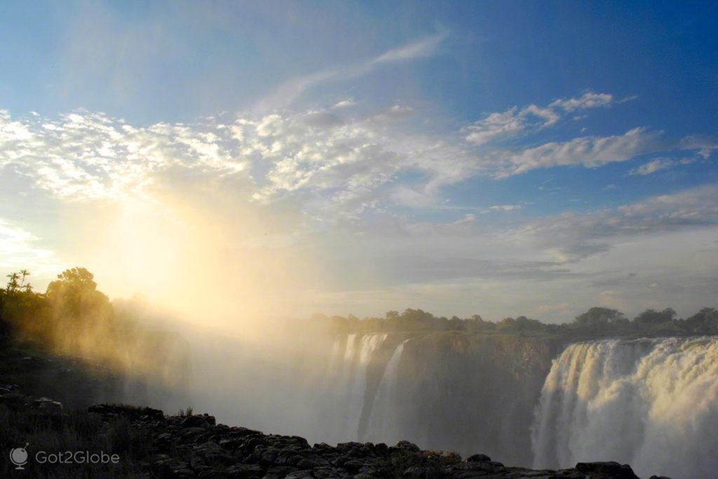Cataratas de Victoria, Zimbabwe, Zambia
