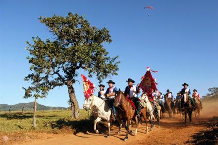 cavaleiros do divino, fe no divino espirito santo, Pirenopolis, Brasil