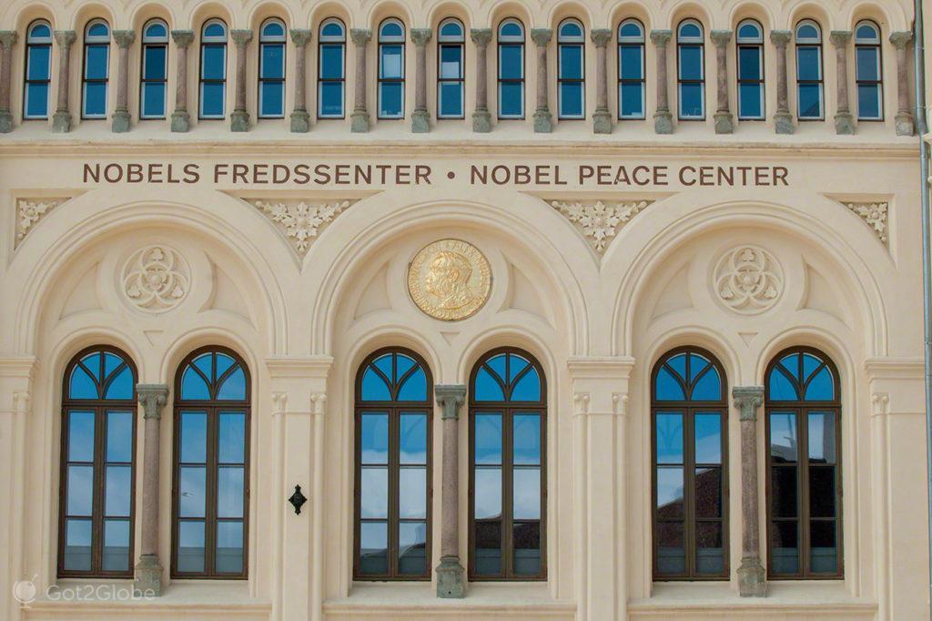 centro nobel paz, capital, oslo, noruega