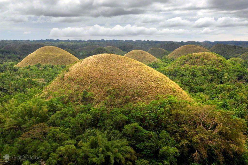 chocolate hills, bohol, filipinas, do outro mundo