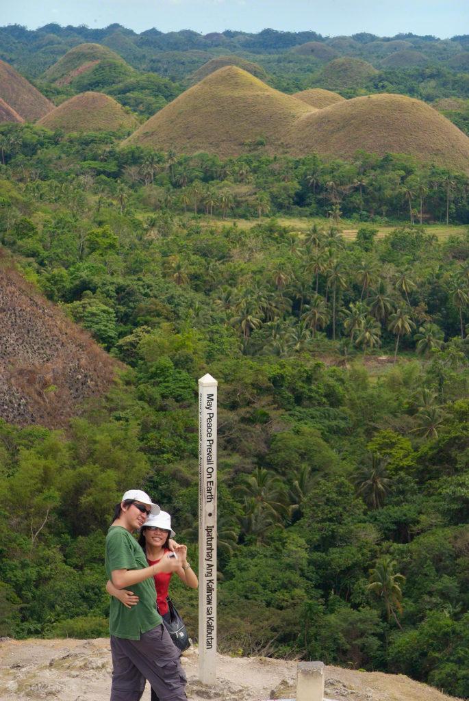 chocolate hills, casal, bohol, filipinas, do outro mundo