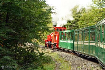 Comboio do Fim do Mundo, Terra do Fogo, Argentina