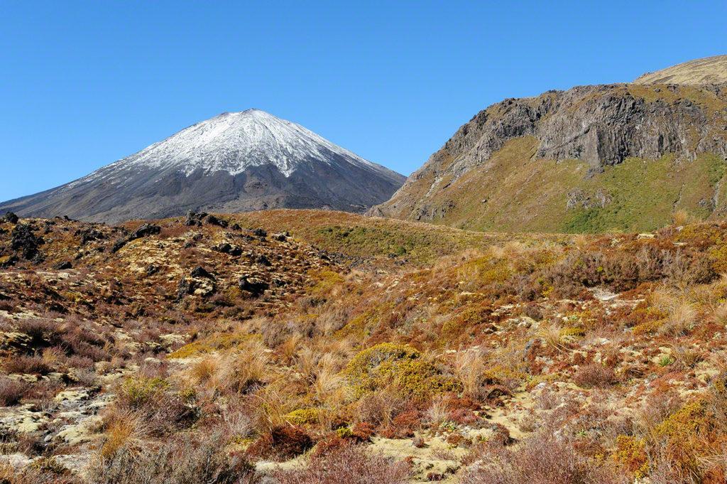 cume, monte Ngauruhoe, vulcoes, PN tongariro, nova zelandia