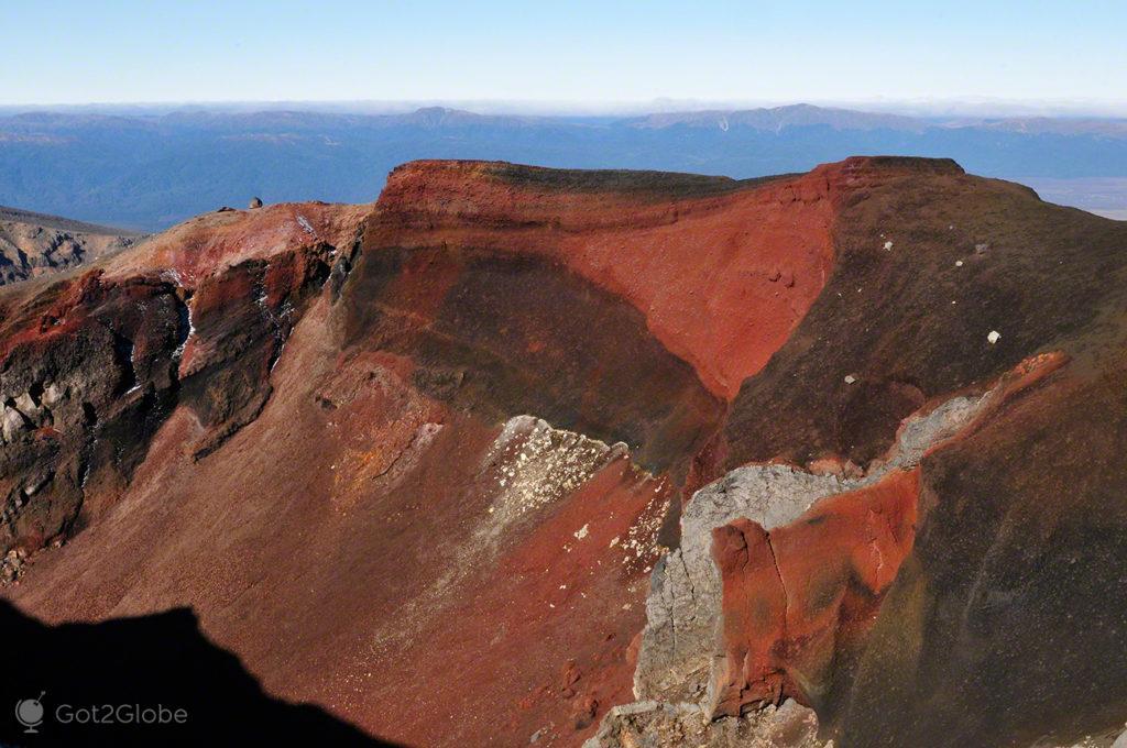 encostas, sulfuricas, vulcoes, PN tongariro, nova zelandia