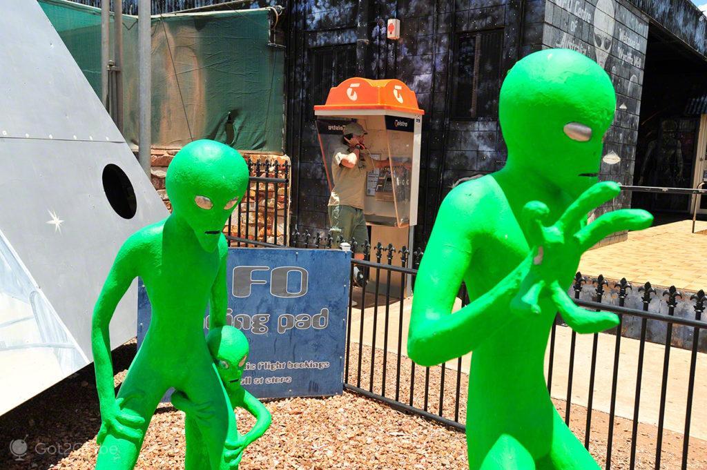 extraterrestre, Wycliffe Wells, Australia