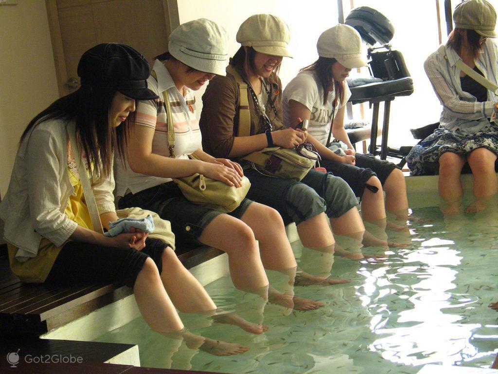 Ilha Sentosa, Singapura, Fish Therapy