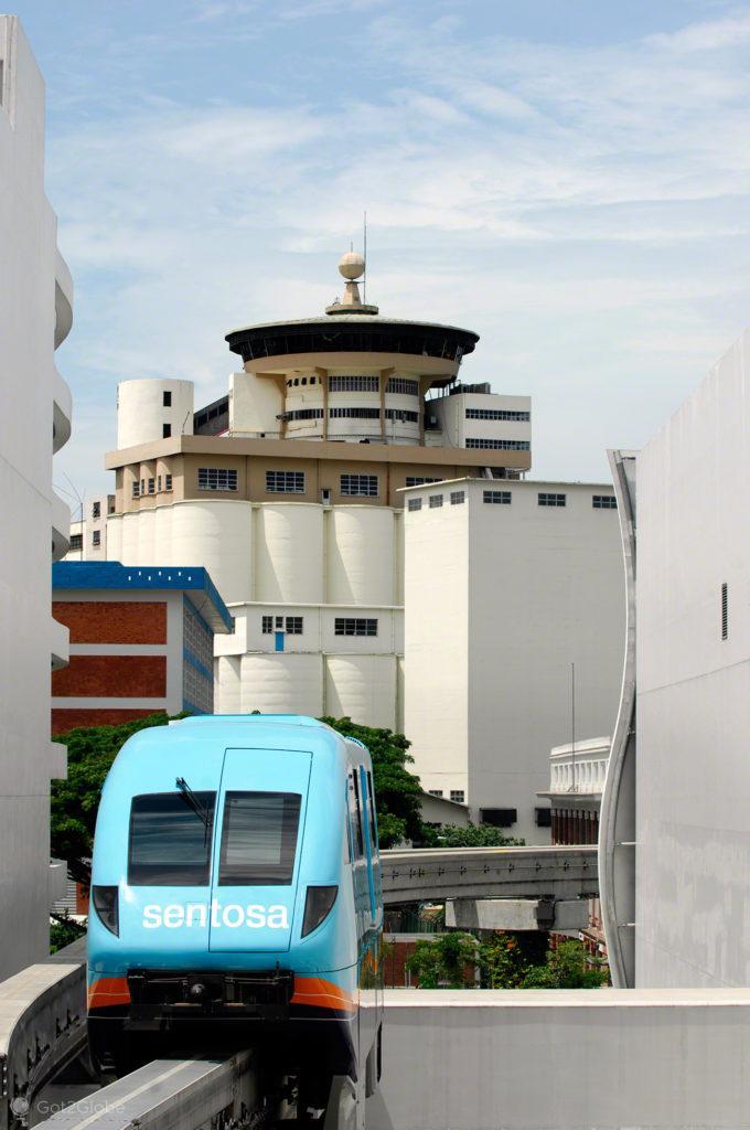 Ilha Sentosa, Singapura, MRT