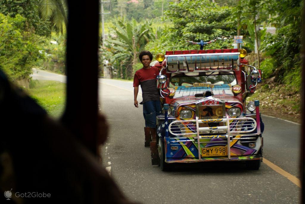 jeepney, exuberante, bohol, filipinas, do outro mundo