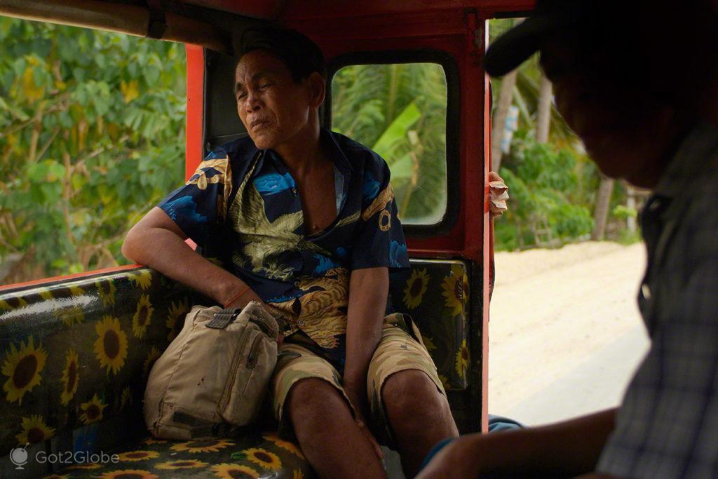 jeepney, passageiros, bohol, filipinas, do outro mundo