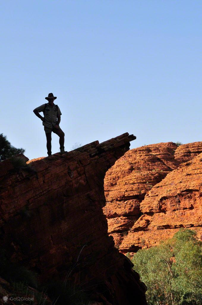kings canyon, chief, promontorio, Red centre, coracao, Australia