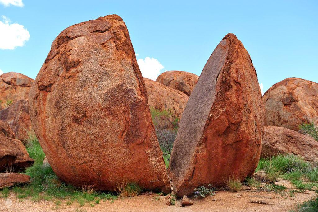 marble partido de devils marble, Stuart Highway, Australia