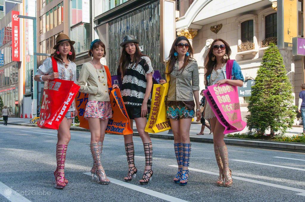 modelos, Moda, Toquio, Japao