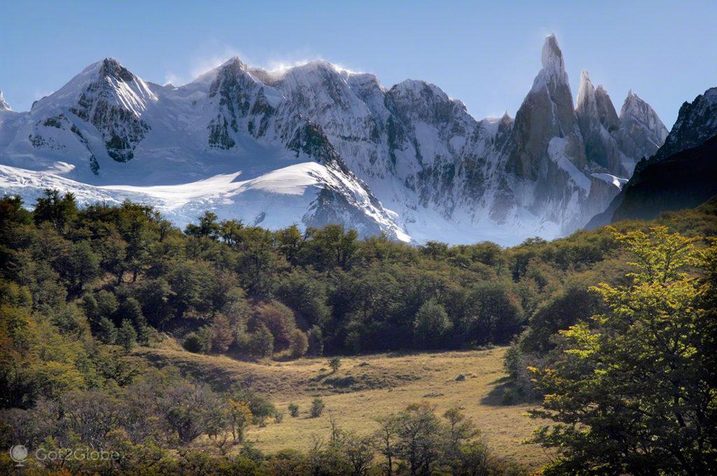 picos afiados, monte fitz roy, argentina