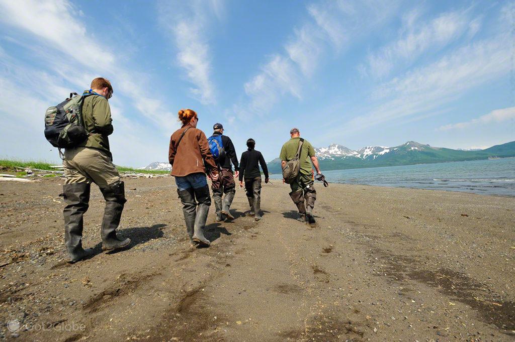 piloto, guia, tour, ursos, passos grizzly, parque nacional katmai, alasca