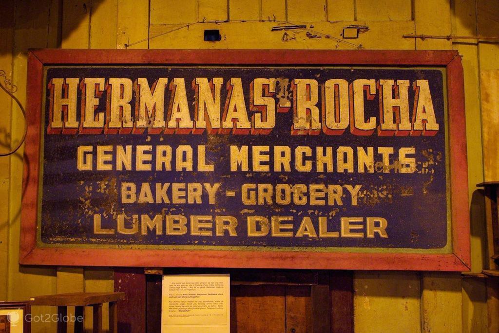 placard, loja antiga, bohol, filipinas, do outro mundo