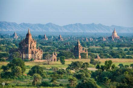 planicie sagrada, Bagan, Myanmar