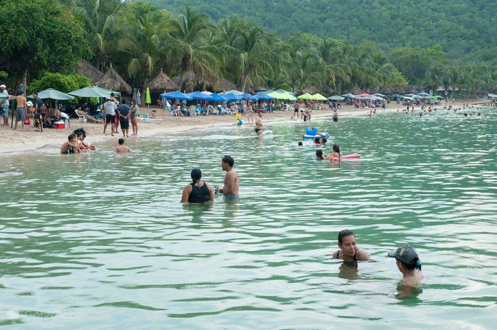 praia ilha arapo, ilha margarita, PN mochima, venezuela
