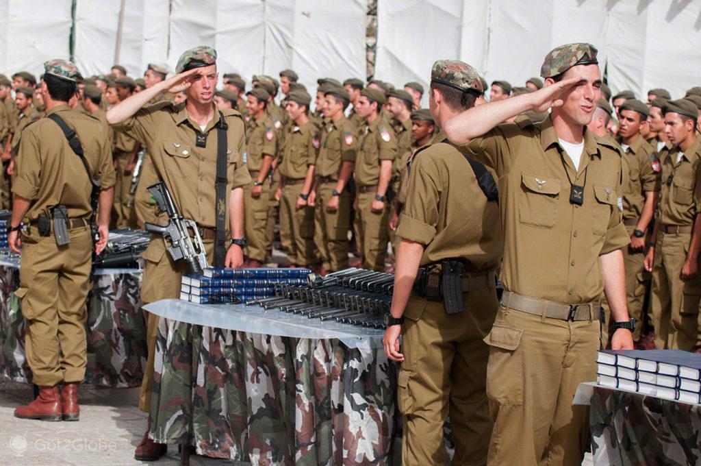 respeito pela patria, muro das lamentacoes, juramento bandeira IDF, Jerusalem, Israel