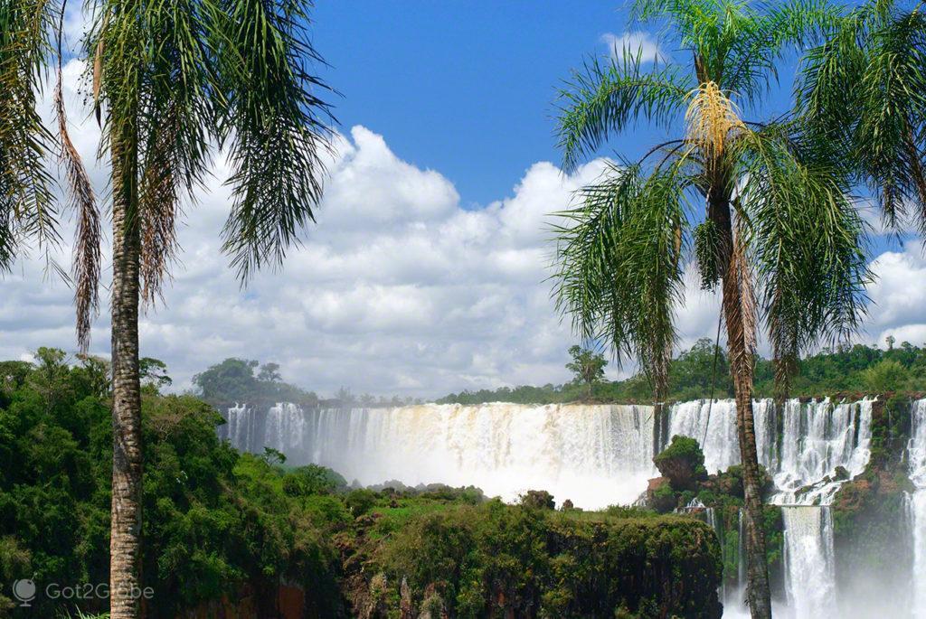 salto san martin, palmeiras, cataratas iguacu, brasil, argentina