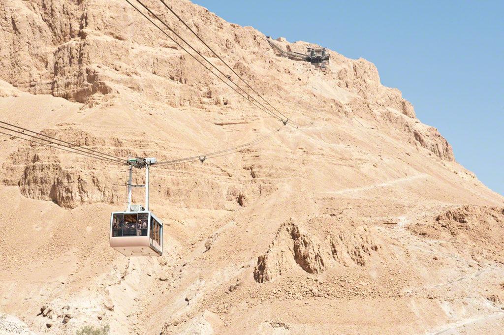 Teleférico, Fortaleza de Massada, Israel