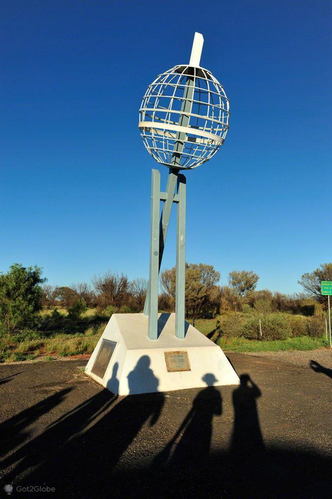 tropico capricornio, monumento, Stuart Highway, Australia
