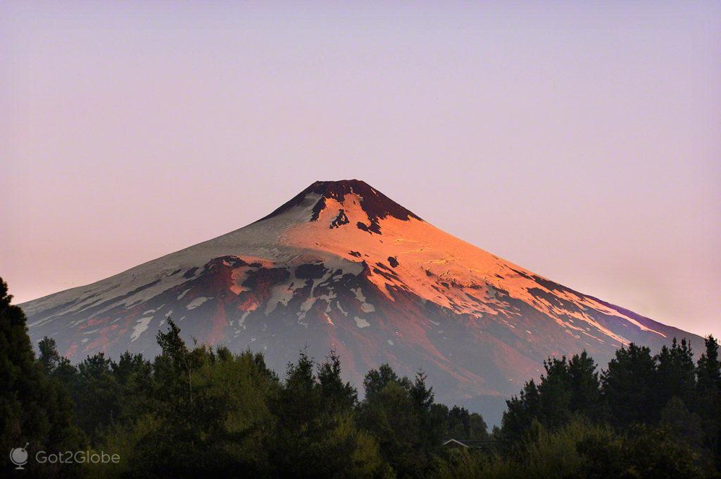 Vulcão Villarrica, Pucon, Chile