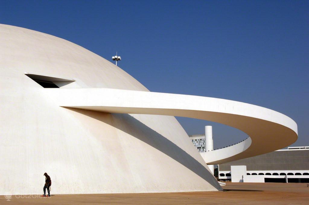 Museu da República ,Brasilia, Utopia, Brasil