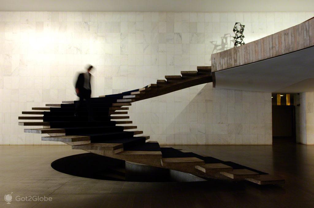 Escadaria Palácio Itamaraty, Brasilia, Utopia, Brasil
