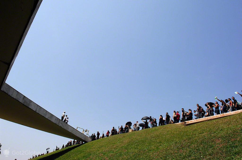 Manifestação polícia, Brasilia, Utopia, Brasil