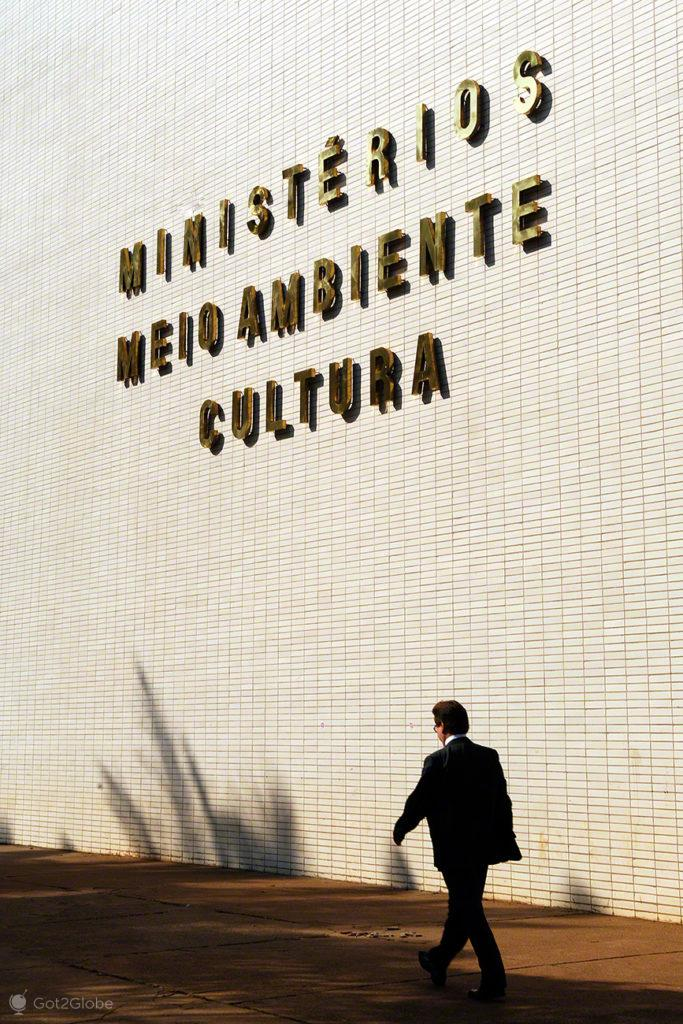 Ministério meio-ambiente, Brasilia, Utopia, Brasil