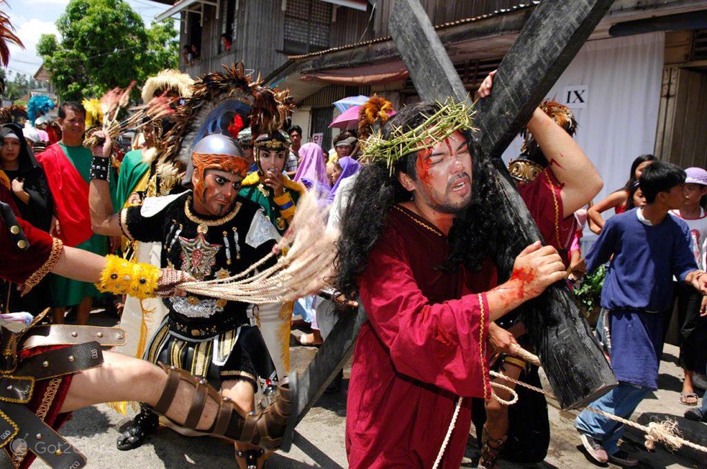 Via Crucis de Boac, Festival de Moriones, Marinduque, Filipinas