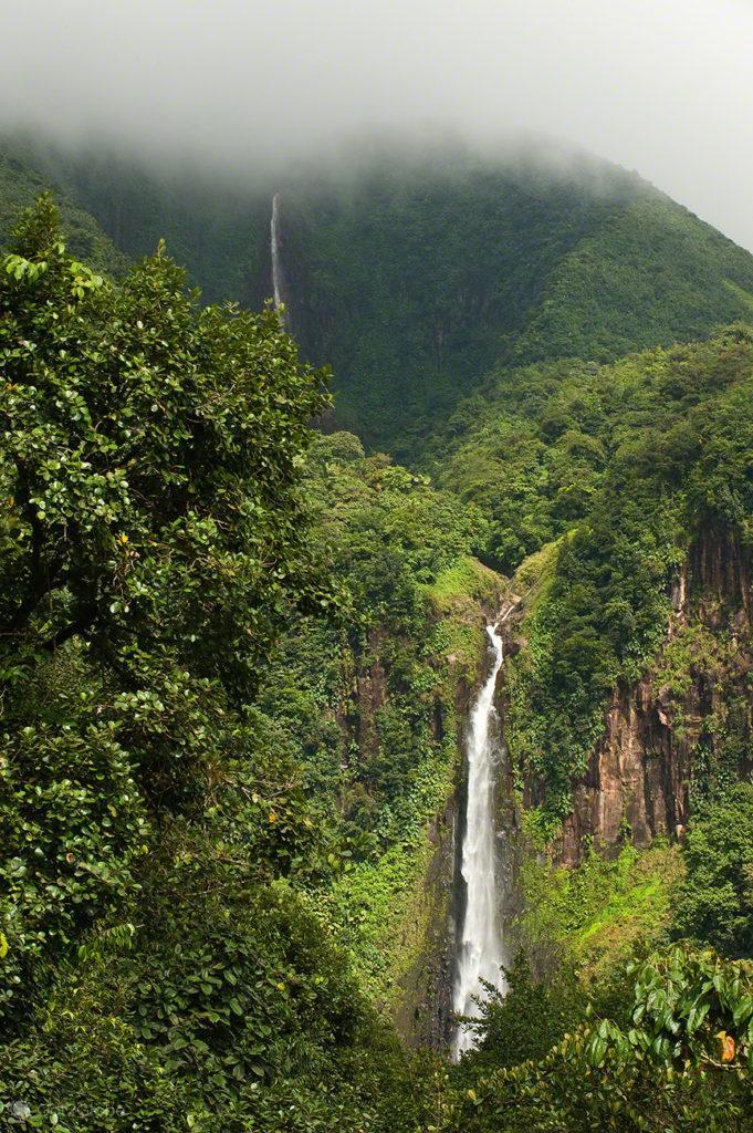 Chutes du Carbet, Guadalupe, Caribe, Efeito Borboleta, Antilhas Francesas