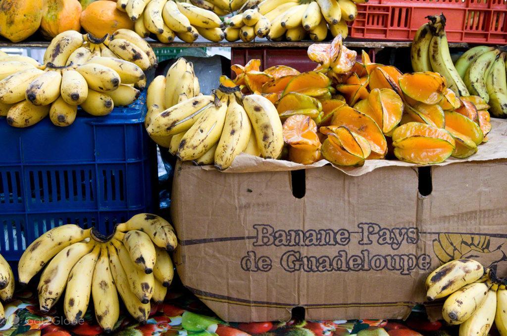 Fruta, Guadalupe, Caribe, Efeito Borboleta, Antilhas Francesas